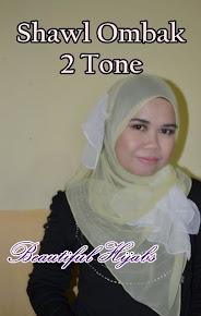 Shawl Ombak Dual Tone