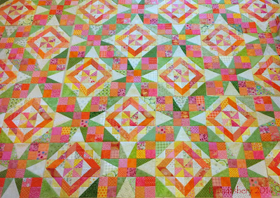 Celtic Solstice Mystery Quilt 2013 - Block Layout