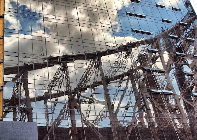 Queensboro Bridge Ref;ectopm. NYC