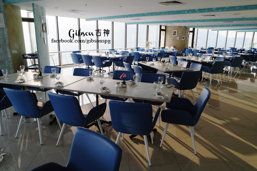 59Sixty Is Located On Level 59 60 Of Komtar Tower Where The Restaurant Occupying Has A Seating Capacity 360 Which Was Designed Along