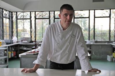 Chef Vicente Suárez Cabal. Hotel Palacio Bosque de la Zoreda. Blog Esteban Capdevila