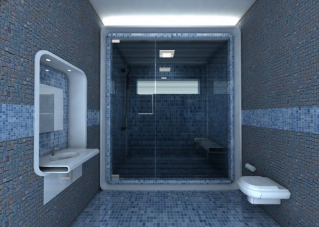 Futuristic bathroom design inspire your home for Different bathroom ideas