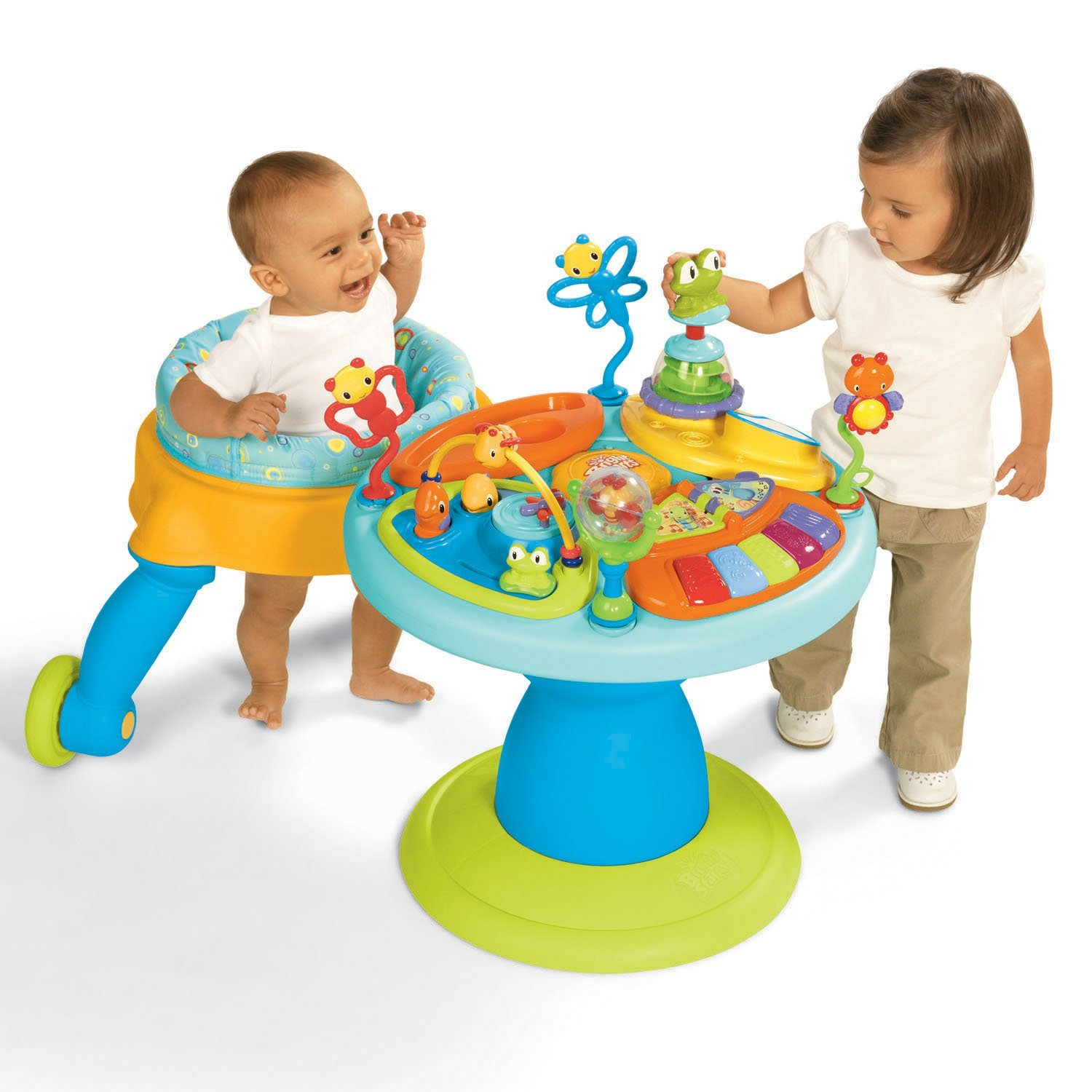 how to change exersaucer to activity table