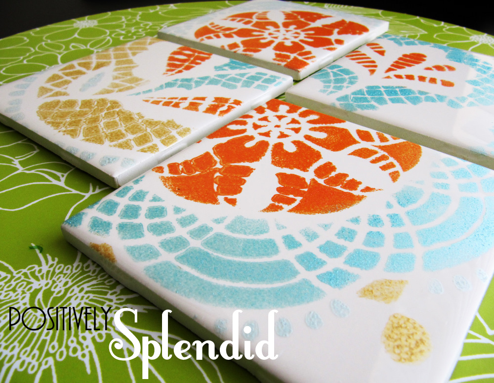 Ceramic tile craft projects
