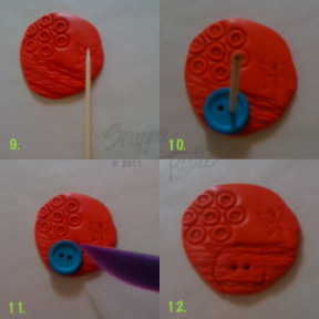 polymerclaybuttontutorial9 12 Polymer Clay Button Tutorial