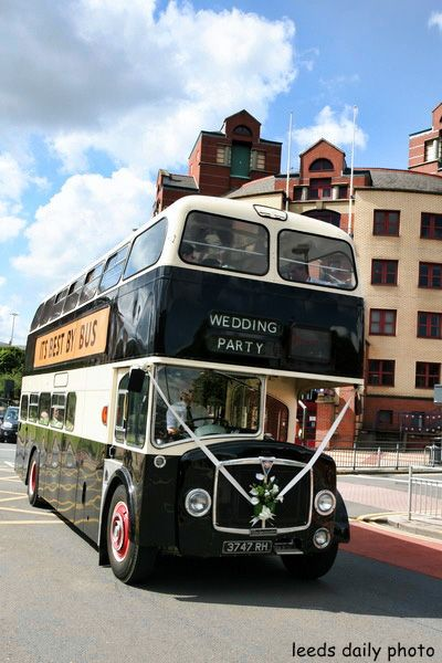 Leeds Wedding Bus