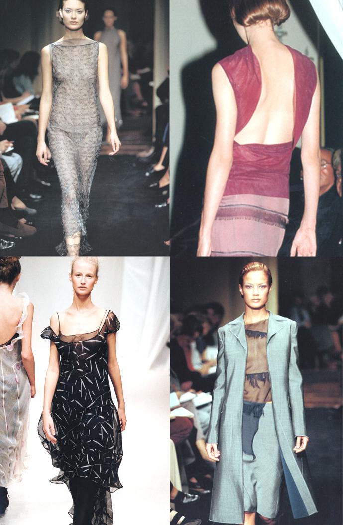 Alberta Ferretti Spring 1997, Fall/Winter 1997/98, Spring 1998