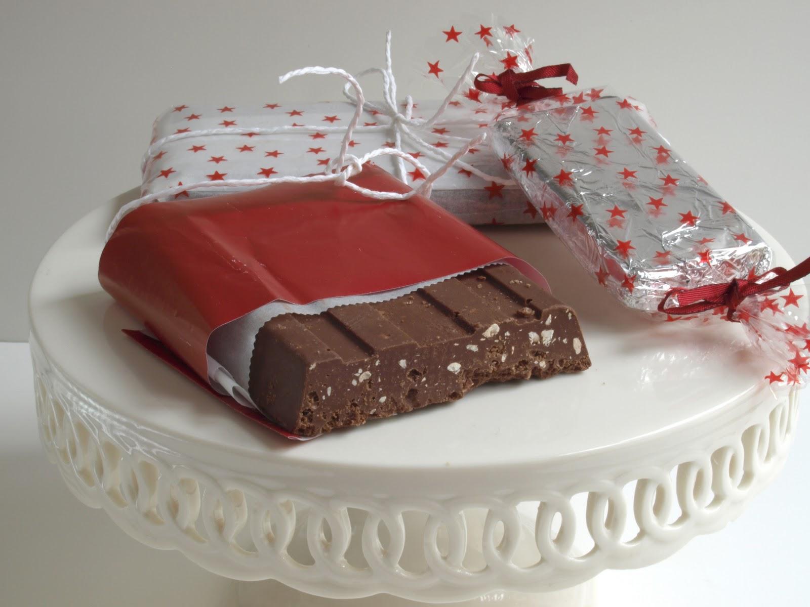 La guinda del pastel dulce navidad y turr n de chocolate for Regalos navidenos caseros