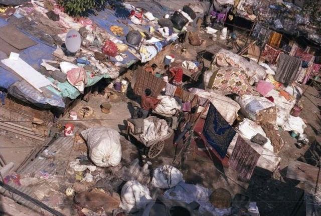 Tak Leh Senyum Gambar Kehidupan Sebenar Penduduk Miskin India