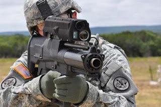 Senjata Tercanggih Granat XM-25