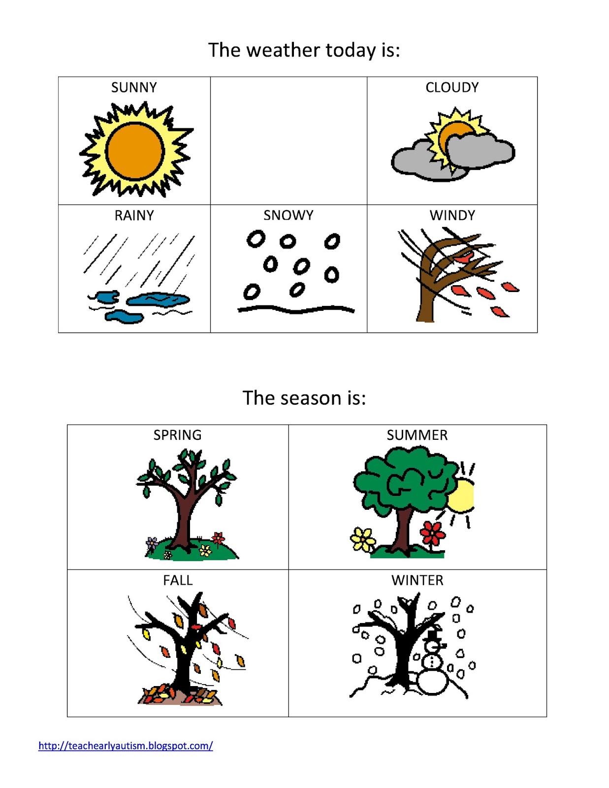 Bright image with regard to seasons printable