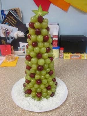 Uvas en Nochevieja 2014 en Recicla Inventa
