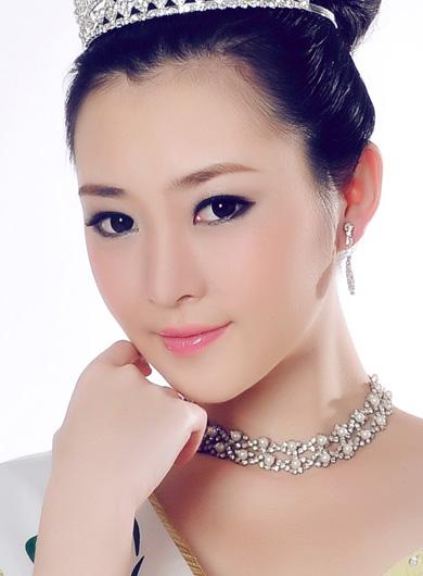miss earth china 2011 liu yu jun