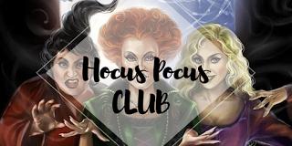 """""""Hocus Pocus"""" Club de Lectura"""