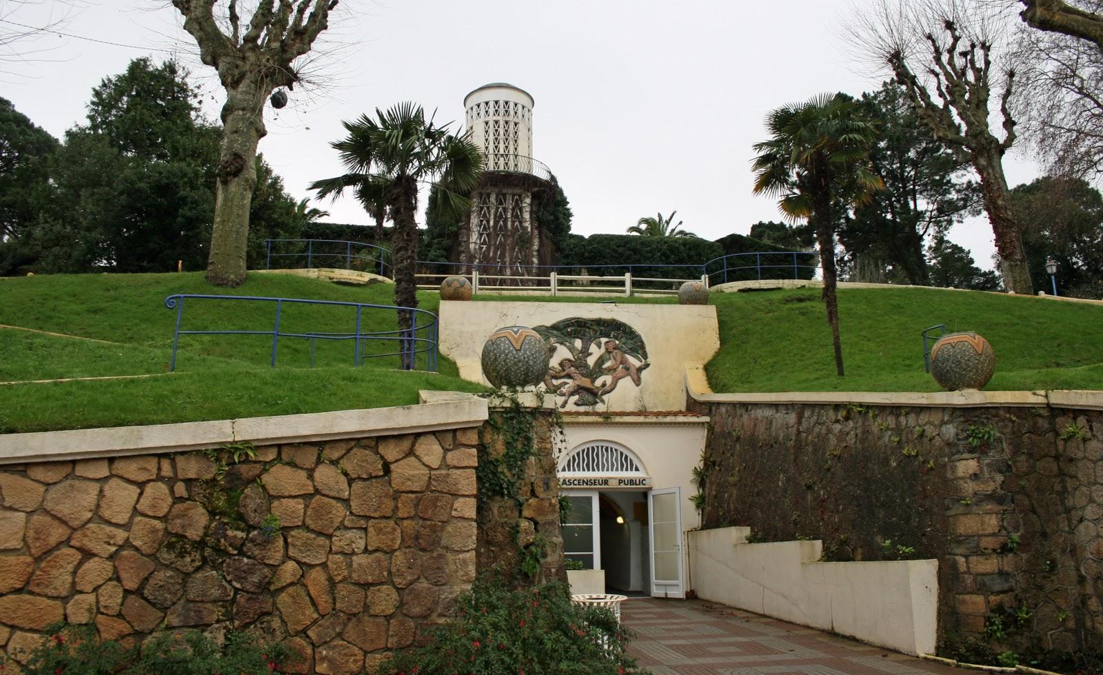 Ascenseur du Parc Mauresque