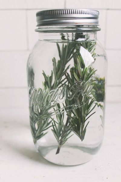 7 Must Have Bloody Mary Items; rosemary infused vodka