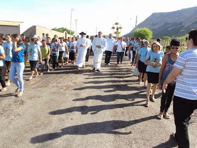 Missa de encerramento da Festa em honra a Nossa Senhora do Impossiveis no Santuário do Lima em Patu
