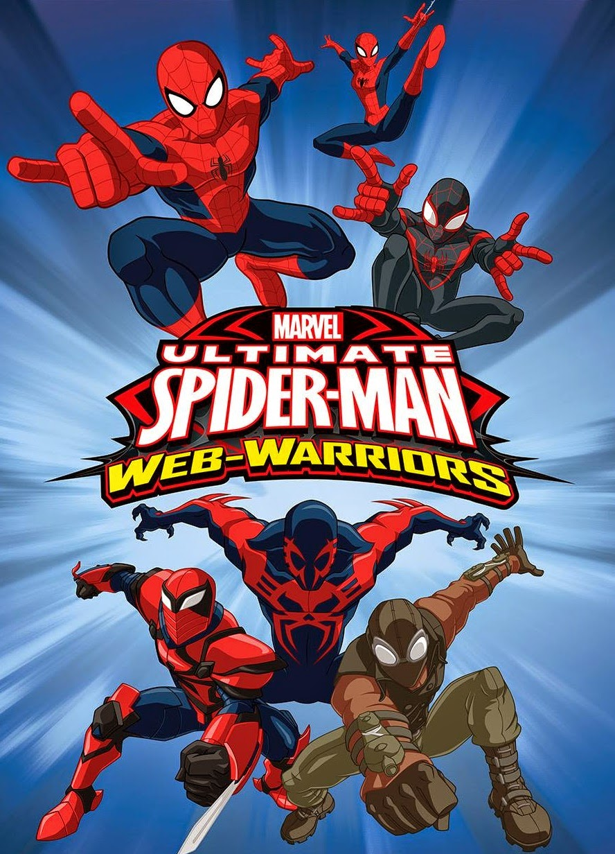 héroes animados ultimate spider man