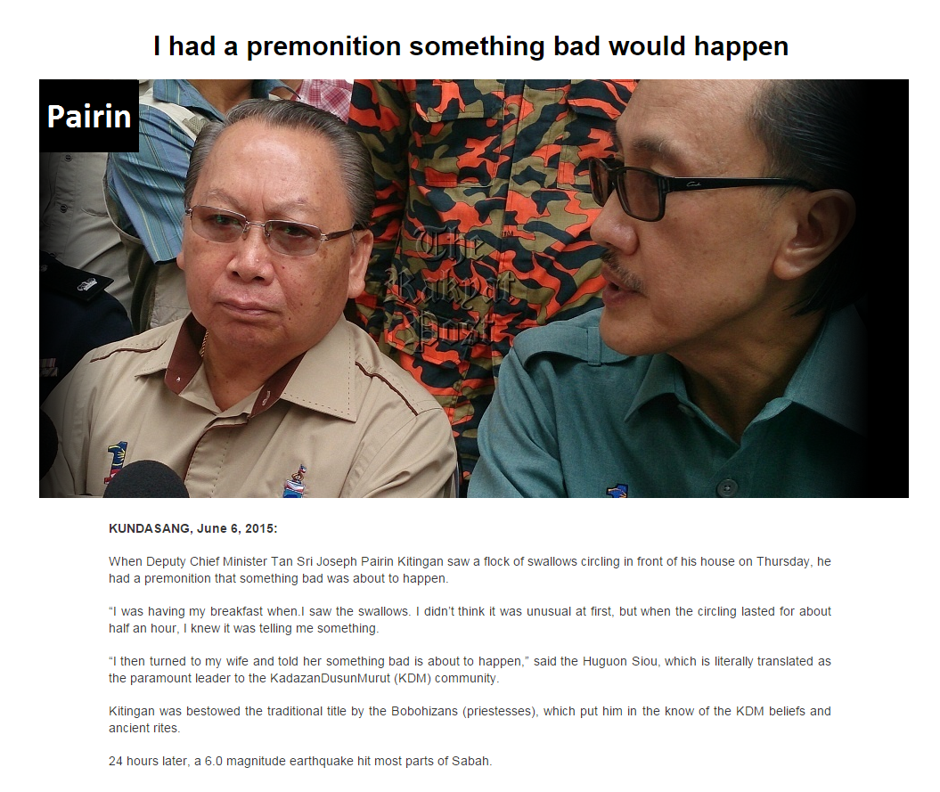 Focus on boat search and rescue not point fingers sabah minister says malay mail online - Click To Enlarge