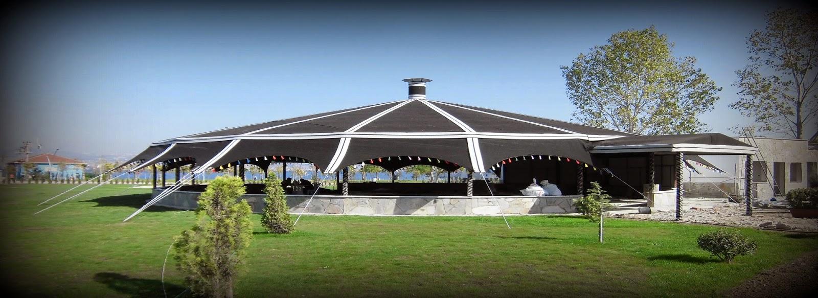 otantik kafe çadırı