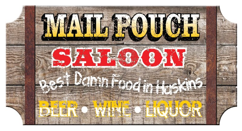 Visit the Mail Pouch Saloon In Haskins OH!
