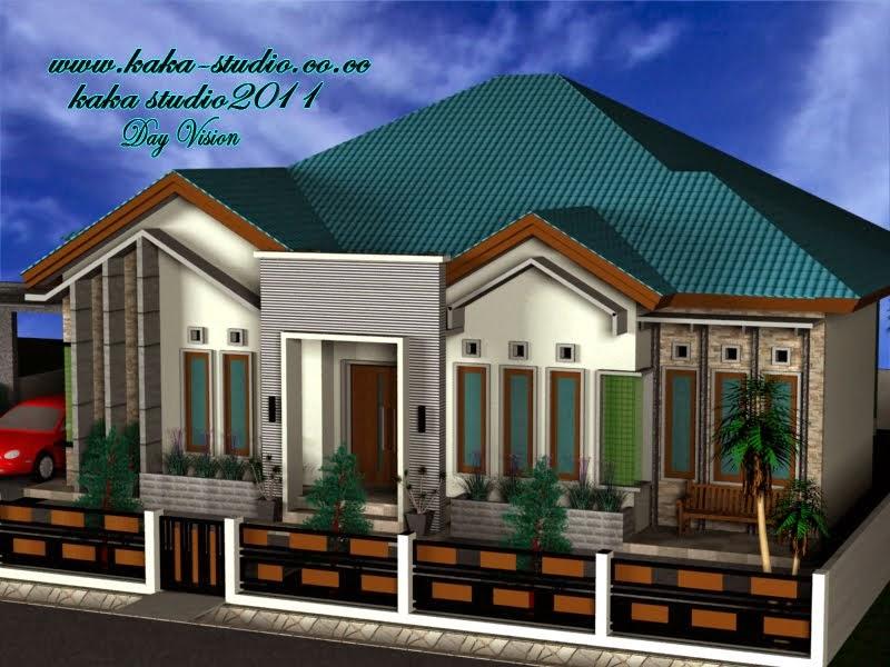 desain rumah minimalis 1 lantai type 80 model rumah unik