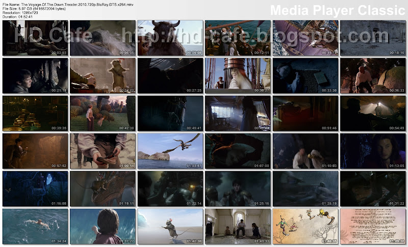 Narnia The Voyage Of The Dawn Treade 2010 video thumbnails