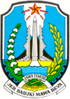 Jawa Timur (Jatim), logo Jawa Timur (Jatim), lambang Jawa Timur (Jatim