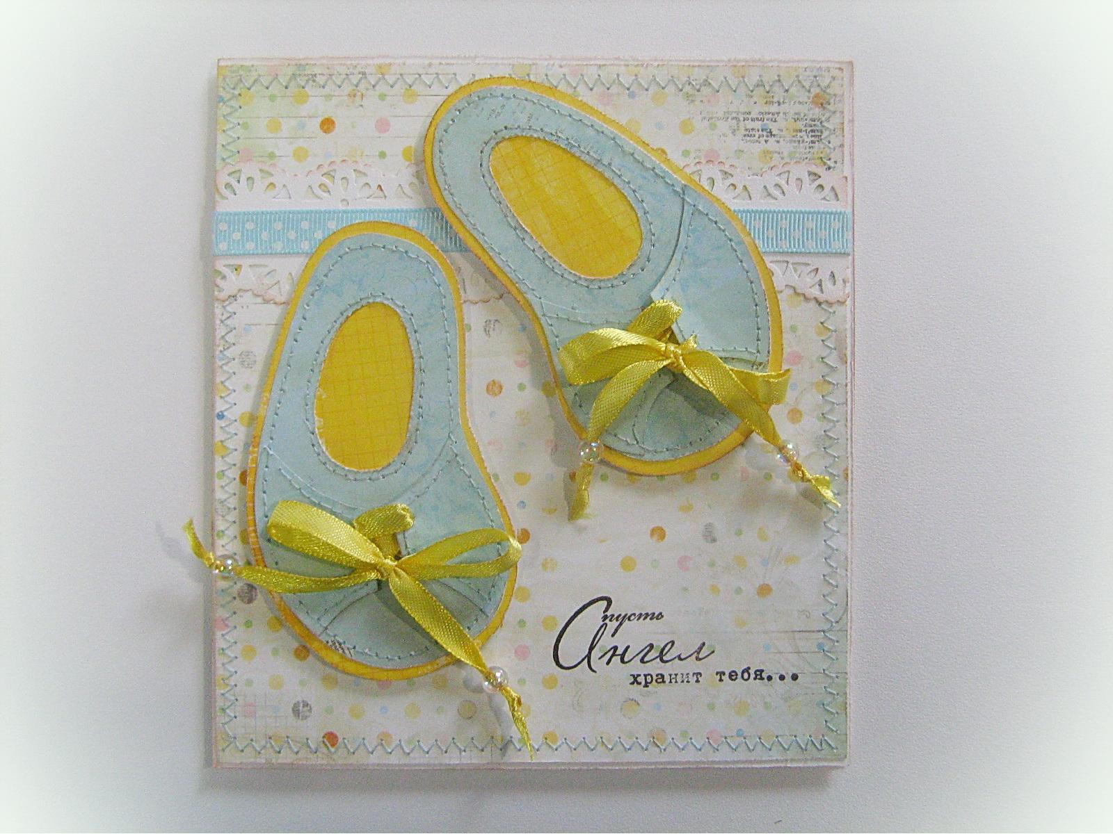 Крестины, крещение: открытки, конвертики, коробочки и прочее 38