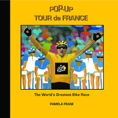 Pop-Up Tour de France book cover