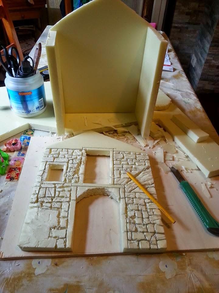 Come costruire un presepe come creare una vecchia abitazione il mondo delle tegole - Costruire casa da soli ...