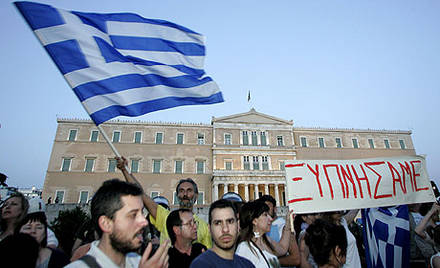 Los españoles no quieren rescatar a los griegos