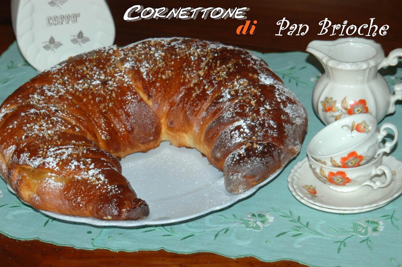 cornettone di pan brioche