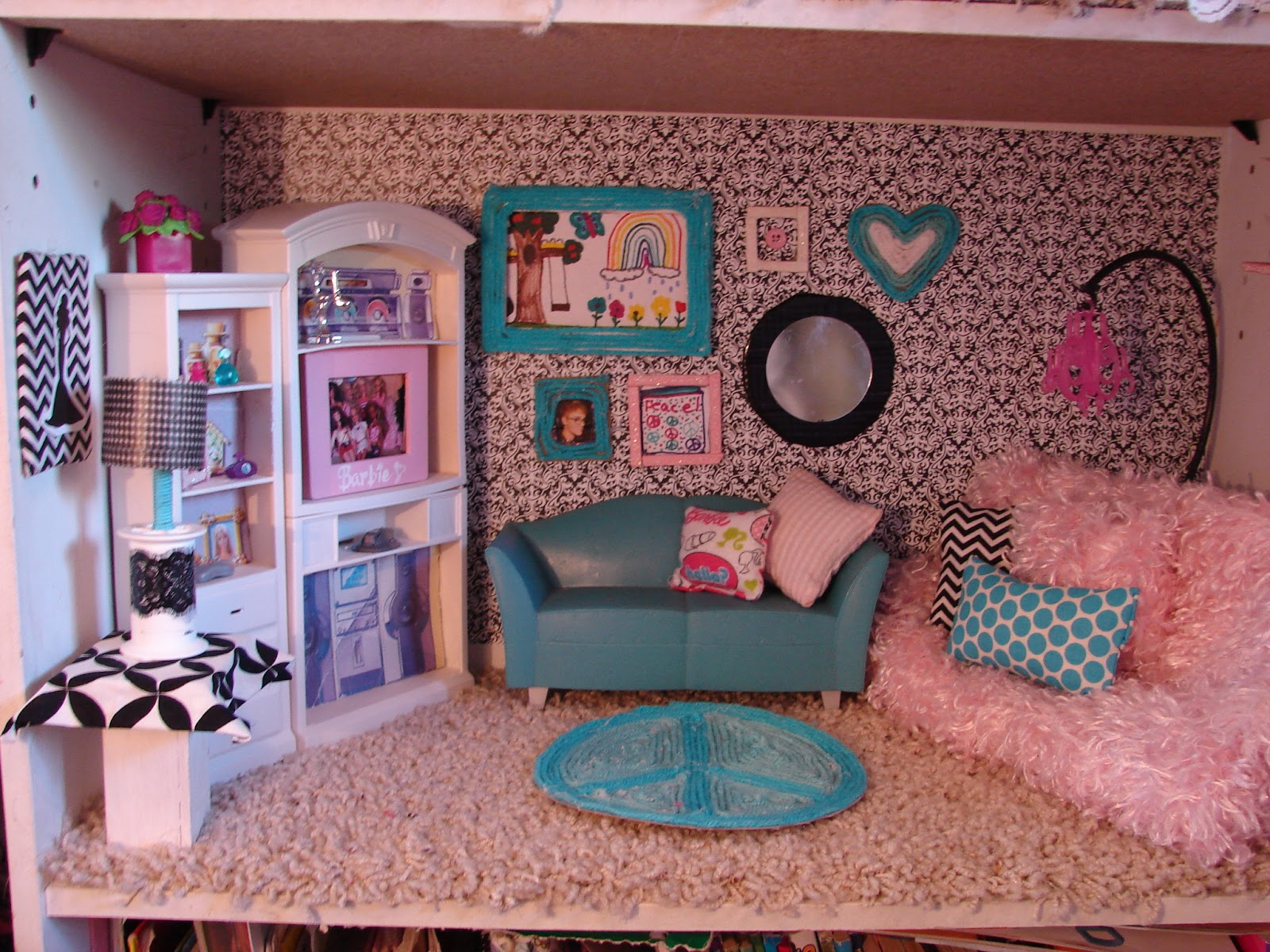 viewing gallery for diy barbie house displaying 16 images for diy ...