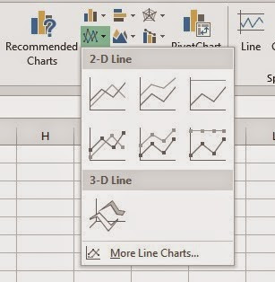 excel 2013 insert chart