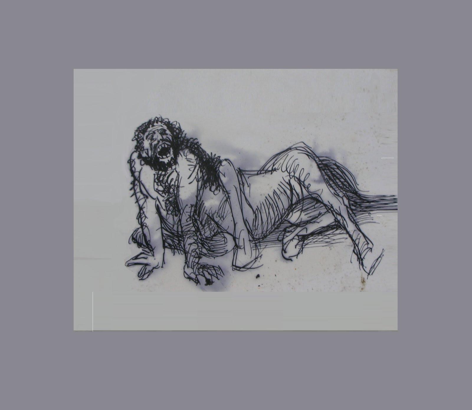 Ilustracion del centauro Chiron