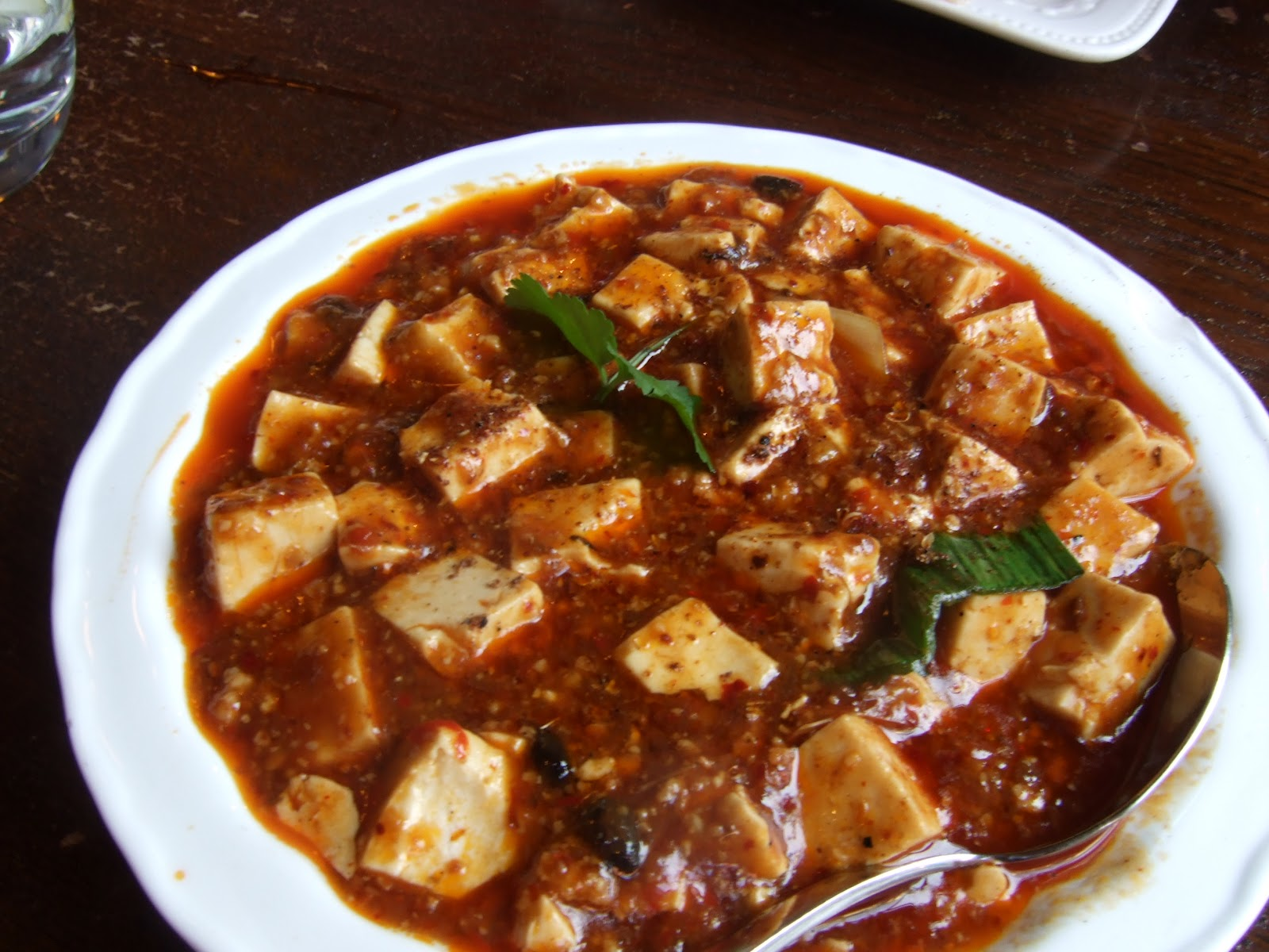 Mapo Dofu (Tofu) With Ramps Recipes — Dishmaps