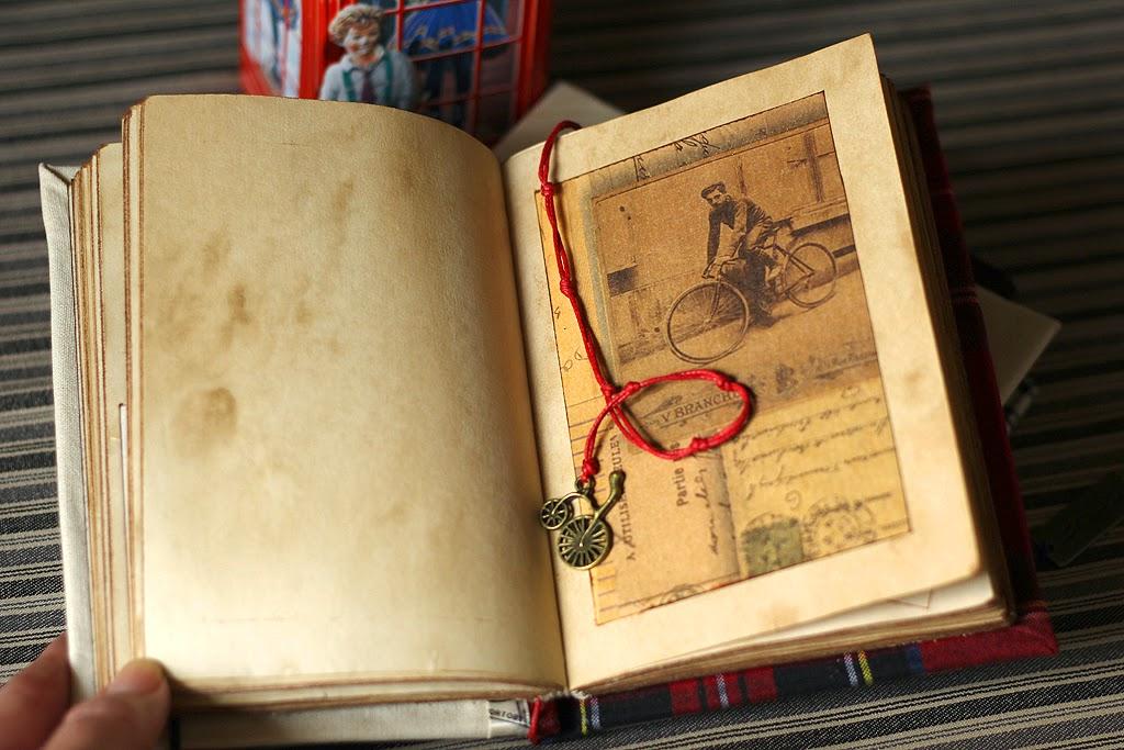 Подарок ко дню учителя, подарок студенту, книга ручной работы, состаренный блокнот