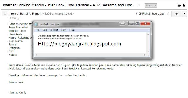 cara transfer bank mandiri ke bank BNI