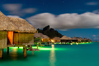 Most beautiful Bora Bora island