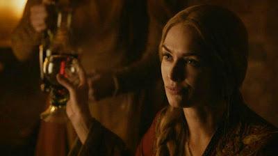 Queen Cersei drunk Game of Thrones