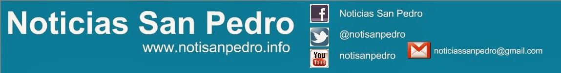 Noticias San Pedro