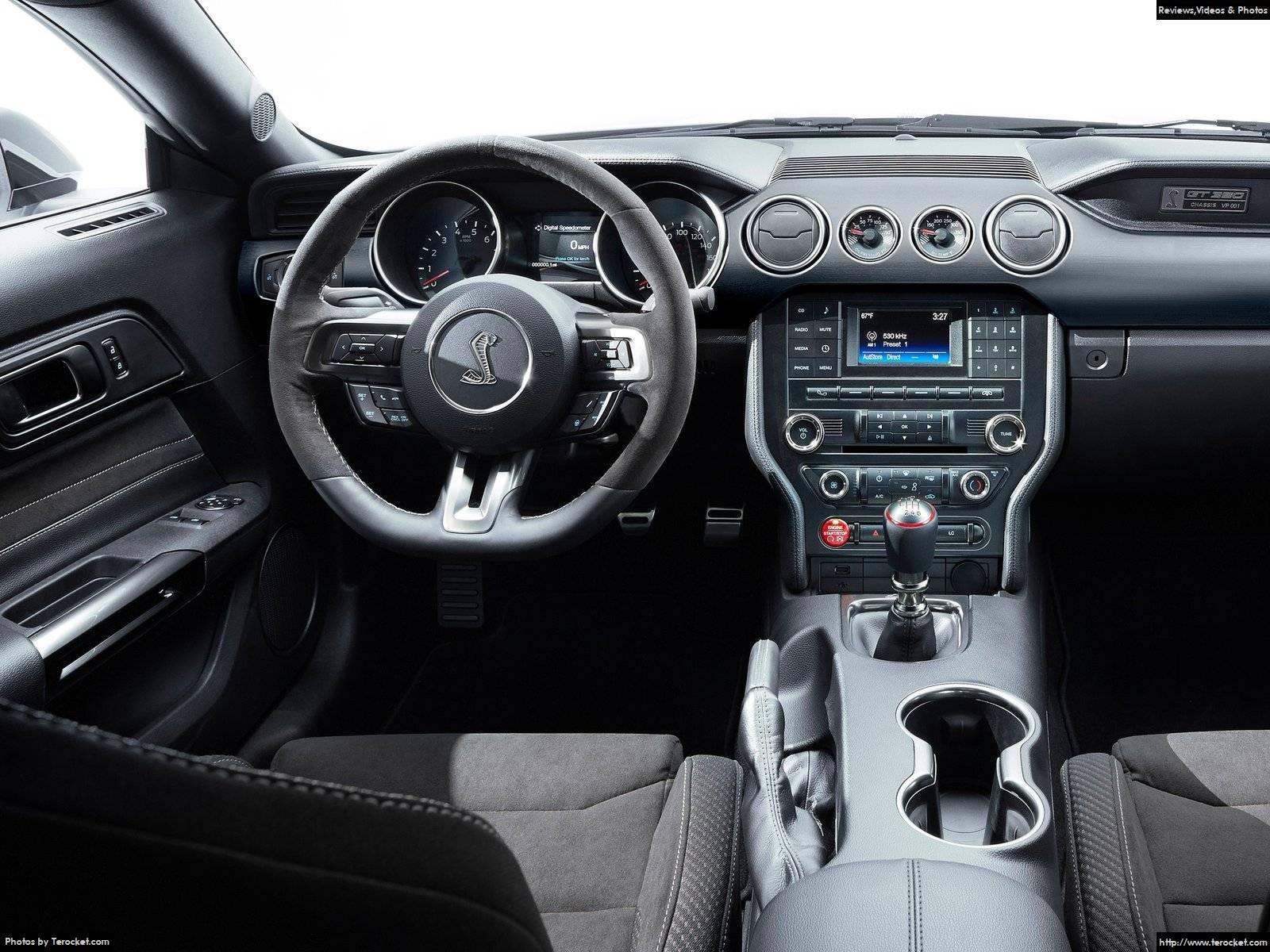 Hình ảnh xe ô tô Ford Mustang Shelby GT350 2016 & nội ngoại thất