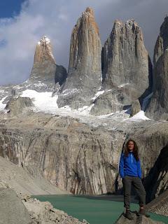 Maides Muñoz Bujedo en Torres del Paine
