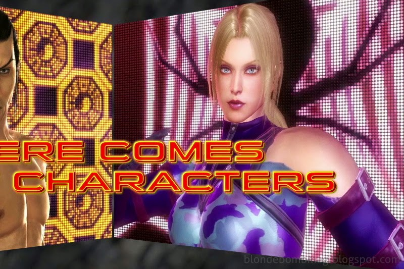 Tekken Character Models Intro Nina Williams