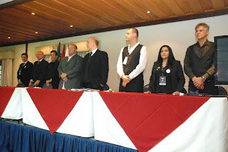 Cerimônia de abertura do Campeonato Brasileiro de Sinuca: cinco dias de competição em Teresópolis
