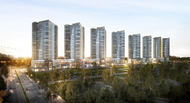 Office-tel The Sun Avenue và Shophouse hưởng lợi từ sự phát triển của khu Đông