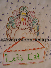 Let's Eat Stitchery Pattern