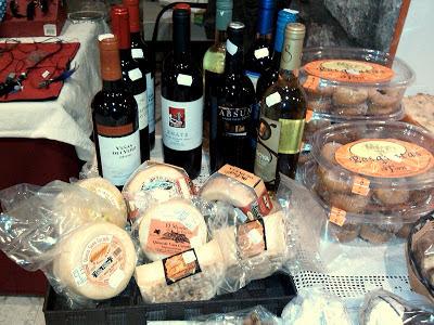 Stand alimentación Feria Artesana