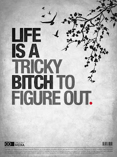 life a tricky bitch quote